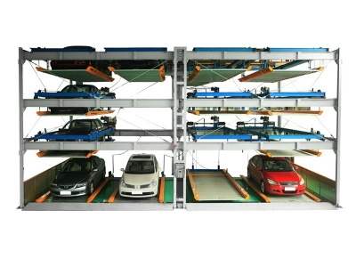 Lifting and lateral parking equipment